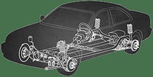 auto parts graphic outline